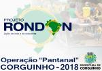 Corguinho está na Operação Pantanal 2018 do Projeto Rondon